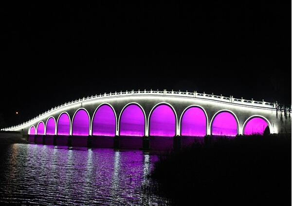景观桥梁亮化