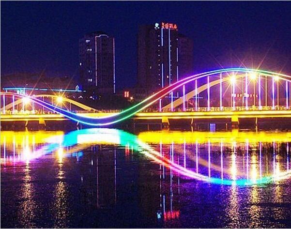西台桥亮化