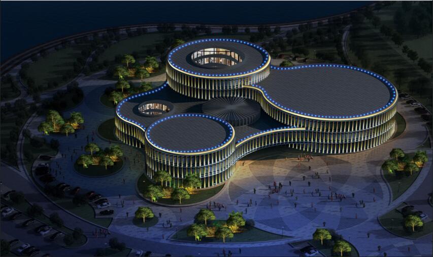 利津县文化中心照明工程